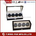 ( ww- 8099m) 2014 eléctrica motor mabuchi mdf cajón suave almohada watch winder caja de fabricación china
