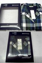 100% cotton comfortable mens Pajamas 2014