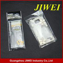 Custom Reusable Black Printing Plastic OPP Bag