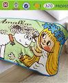 والكلب الجنيةسطح تصميم الرسوم المتحركة الطفل بطانية الصوف المرجانية/ رمي/ مانتا