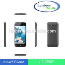OEM ODM MTK6582 super price smart android 4.4k.k 4G EU/AM 4LB LB-H502 5 inchs Dual Camera gsm mobile phone scanner