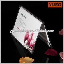 Xangai transparente acrílico cartão tent
