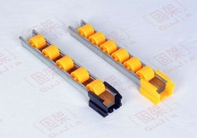 Live Pallet Rack System made by roller track
