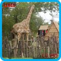 parque temático de dinosaurios de alta de simulación mecánica modelo jirafa