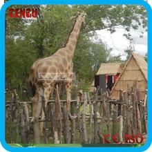 Dinosaur Theme Park High Simulation Mechanical Giraffe Model