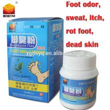 Shoe odor spray with bottle anti-beriberi itch foot odor neutralizer sho deodorant powder