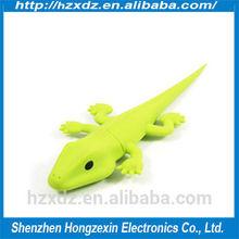 Silicone 1GB usb flash pen drive animal,usb pen driver 1gb Lizard The new delicate mini