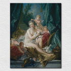 Wholesale classic art Canvas Printed modern picture from world Famous oil painting three little Angels dressing a Older Angel
