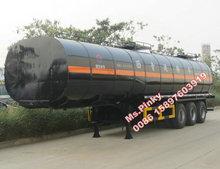 Cheaper Price Factory Sales 3 axle 40m3 to 45m3 Flammable Liquid Tank Semi Trailer