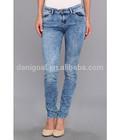 2014 wholesale skinny cheap denim jeans bulk wholesale jeanswith snow wash