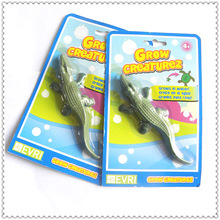 Crocodile Novelty Toys Expand In Water (Can grow into 600% in water,made up of EVA material)