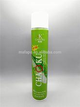 Aerosol hair spray bleach cream and hair developer