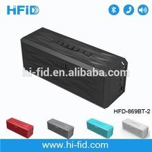 Original Patent Design High End 10Watt Bluetooth Wireless Boombox Speaker From Manufacturer