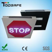 Solar traffic flashing led stop signs