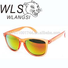 orange retro sunglasses promotional wayfarer sunglasses