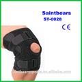 St-0028 neoprene personalizado joelho articulada