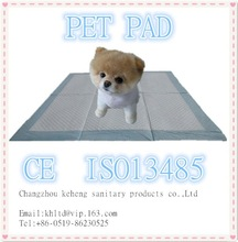 puppy training mat with dry and comfortable non-woven