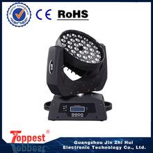 Top 36x10w zoom light led moving head laser light