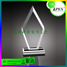 Excellent Quality Acrylic Paperweight Trophy Award