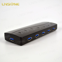 Factory price 7 ports usb hub 3.0 driver for windows 7
