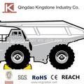 Laranja ou amarelo cor de poliuretano calço para caminhões pesados, heavy duty, do tempo- resistente, peso super leve