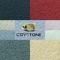 حجر الغرانيت الملونة crystone الطلاء تأثير الرش على المجلس ماج