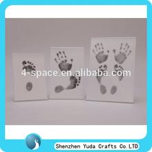 A4 a5 a6 tamaño de acrílico de la foto marco de imagen, plexiglás transparente marco para bebé huella