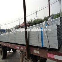 Hot dipped Galvanized square steel pipe Material: Q195-Q345