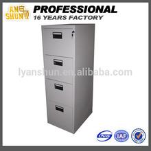 metal document 4 drawer cabinet, drawer metal cabinet