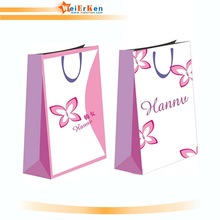 china custom paper bag for gift promotion