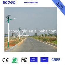 high quality 60w solar street light/una luz de calle solar