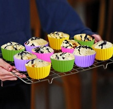 Silicone Baking Cups BPA Free Silicone Cupcake Liners Perfect for Muffin, Mini Cakes, Snacks, Frozen Treats and Any Dessert