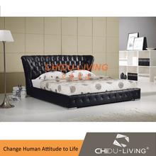 modern soft bedroom black 618