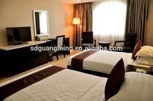 walnut color wood hotel furniture