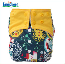 Famicheer All In One Baby Cloth Diaper Free Sample,insert sewn on diapers