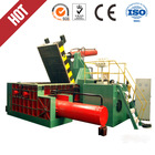 Y81-125 Hydraulic scrap metal compressing baler, HARSLE Brand waste metal packing machine,recycled scrap bottles and car