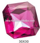 Luxury Acrylic Imitation Gems Crystal Diamond Jewelry