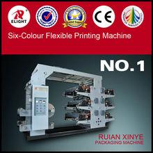 EPC Six colors flexo label printing machine, plastic cover printing machine supplier