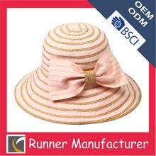 Fashion High quality paper straw hat ribbon