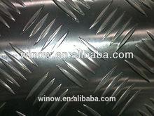 best price aluminum 5052 checkered/five bars/tread Aluminium Plate/Coil