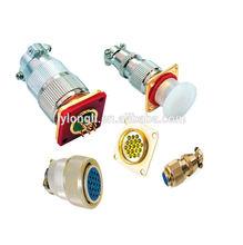 MX series gas sealed circular connectors