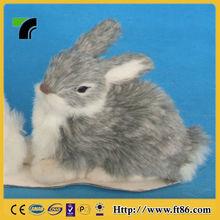 New Design Long Ear Stuffed Bunny home small plastic rabbits