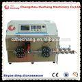 Electric hot venda de descascamento do fio equipamentos hc- 515e2 fio elétrico da máquina de corte