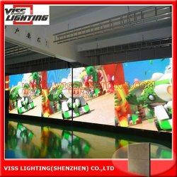 indoor led display audio visual animals/ 96*96 dot led xxx video
