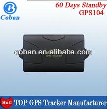 gps avl car Trackers GPS-104 easy installation & magnetic & 6000mAh battery backup