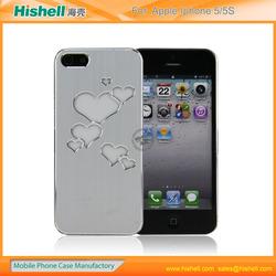 sense flash light led hard case for apple iphone 5