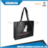 Latest popular widely used black non-woven shopping bags