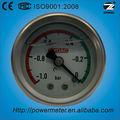 1.5'' 40mm lleno de aceite de vacío de presión manométrica