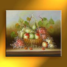 2014 new artwork impressionist handmade fruit oil painting on canvas home decor