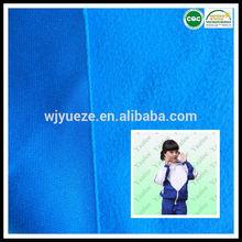 100 polyester brushed fleece school uniform material fabric